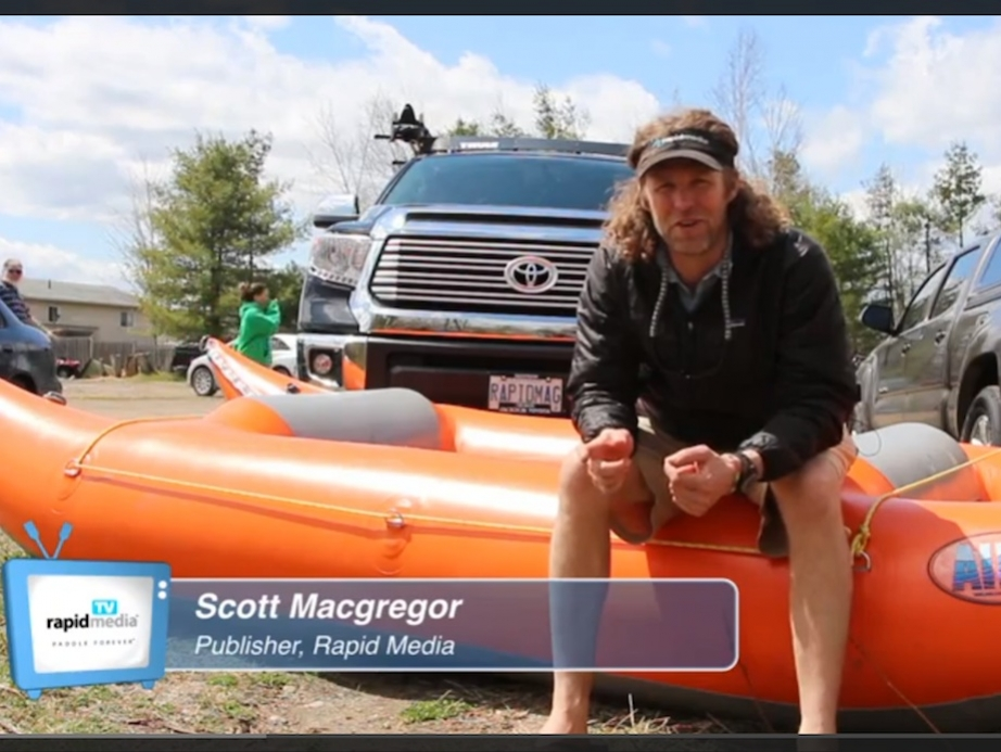 Photo: Screen capture AIRE Sabertooth Raft Review