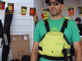 Matt Porter with Kokatat Hustle R PFD