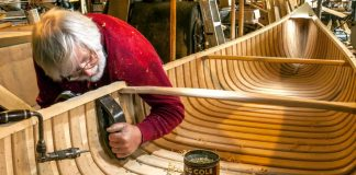 canoe builder Bill Miller