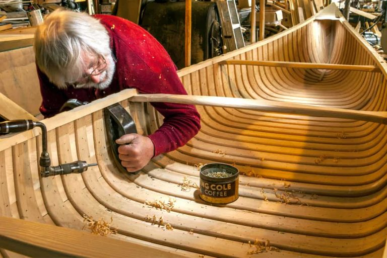 What's So Special About Wooden Canoes And Their Builders?