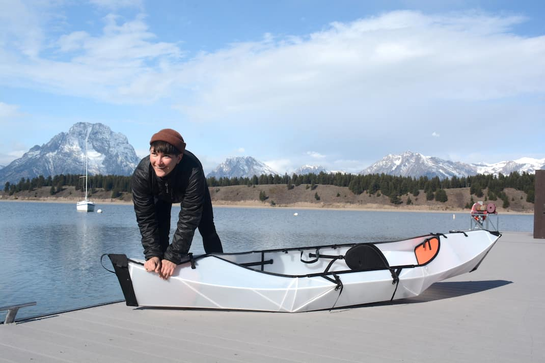 Unfolding and setting up the Oru Kayak Inlet