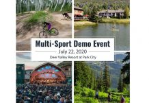 Announcing Multi-Sport Demo Day at Park City's Deer Valley Resort
