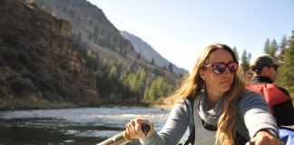 River guides like ARTA's Billie Prosser are the voice of the canyon. | Photo: Virginia Marshall