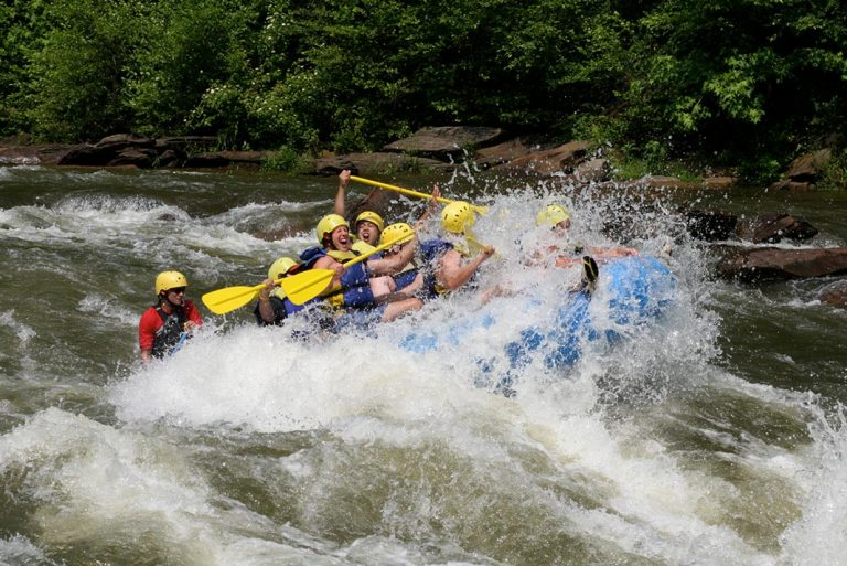 There's A Whitewater Rafting Experience For Everyone In North Carolina