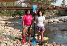 Diversify Whitewater co-founders Antoinette Lee Toscano and Lily Durkee. | Photo: Matthew J. Berrafato