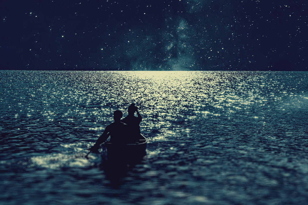 And all the night's magic seems to whisper and hush—Van Morrison.   Photo: Ismail Atiev