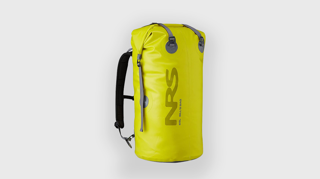 Best Gift for Kayakers and Canoeists - NRS 65L Bill's Bag Dry Bag