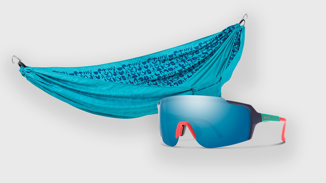 Best Gift for Kayakers and Canoeists - Therm-a-rest Hammock and Smith Sunglasses