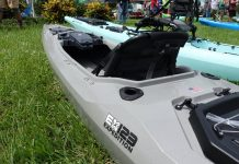 Bonafide Kayaks' EX123 Expedition Fishing Kayak