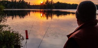 """""""I love shooting and fishing around my home in Canada.""""   Photo: Will Richardson"""