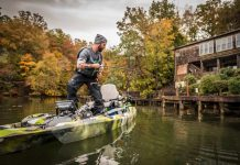Three rods and three lures to cover any lake.   Photo: Roland Jimenez