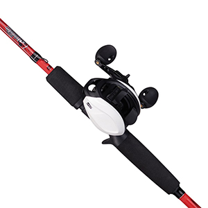 Reel on a fishing rod